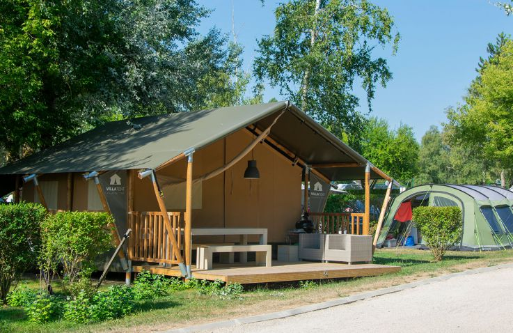 Camping Le Lac d'Orient - Safarizelte Champagne-Ardenne