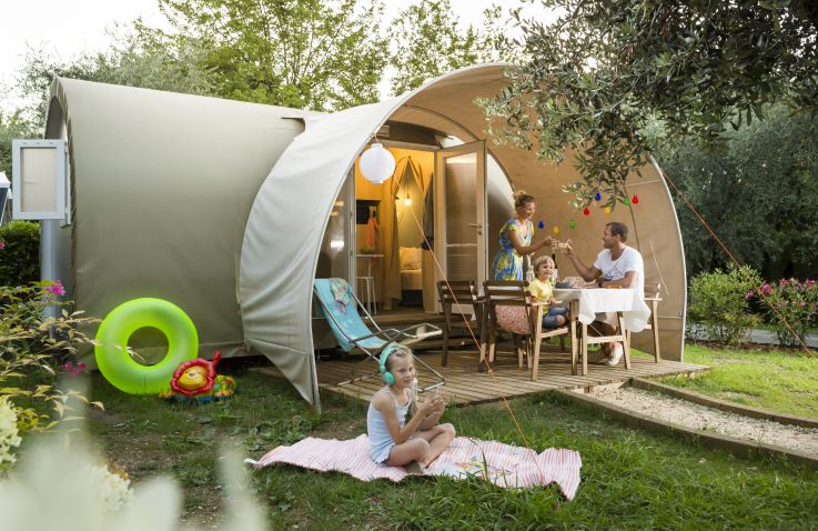 Vacanze col Cuore: Vacanze Glamping Boutique - Safarizelte Gardasee