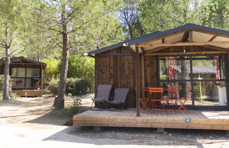 Huttopia Fontvieille – Glamping Provence