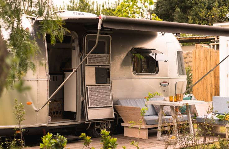PROCIDA Camp & Resort - luxuriöse Airstreams