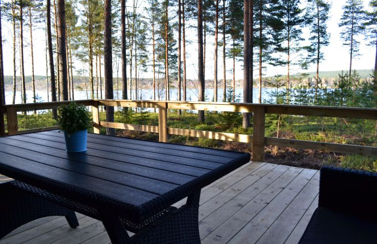 Radastrands-Campingplatz – Safarizelte in Schweden
