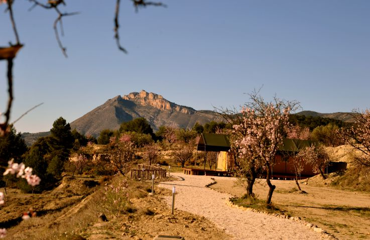 Finca Les Coves – Safarizelte in Spanien