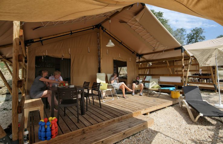 Orbetello Camping Village - Airlodge & Lodgezelte Grosseto