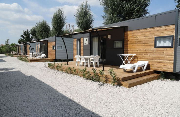 Camping Les Sables d'Or - Lodges Languedoc-Roussilon