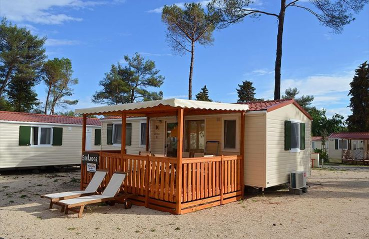 Camping Zaton Holiday Resort - Mobilheim Kroatien