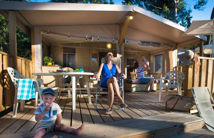 Camping Nouvelle Floride - Lodgzelte in Languedoc-Roussillon