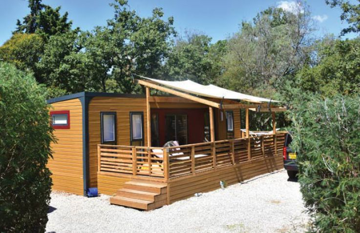 Mobilheime Frankreich : Camping domaine des naiades luxuriöse mobilheime an der côte d
